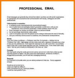 professional cover letter writers 6 how to write professional emails sle daily task
