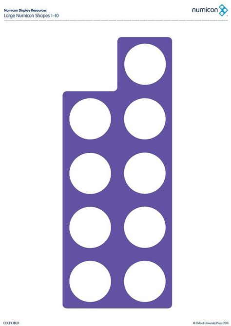 printable numicon number cards download your free large numicon shapes from 1 10 here