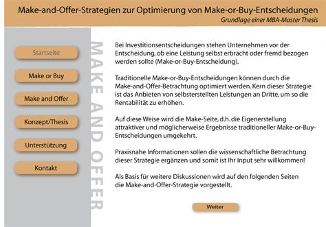 buying a house making an offer make and offer strategische option bei make or buy