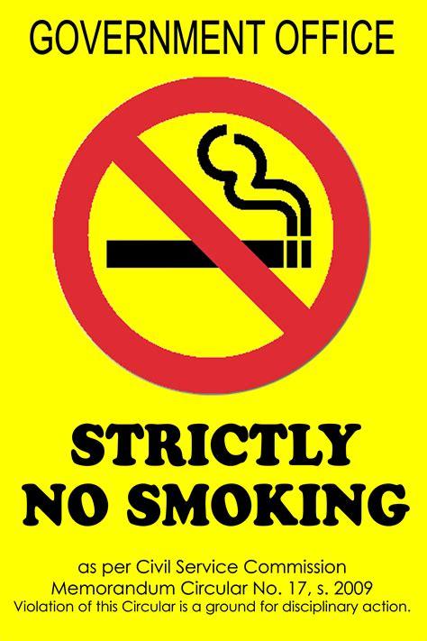 no smoking sign gov csc readies for world no tobacco day no smoking month