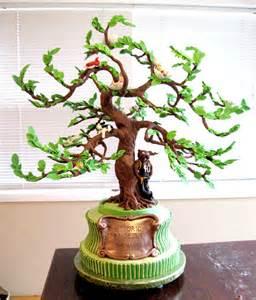 baumstamm kuchen tree of 40th birthday artisan cake company