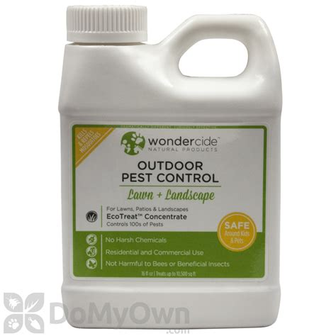 backyard pest control ecotreat natural outdoor insect control 16 oz