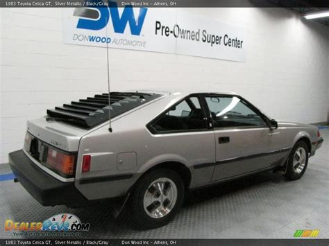 1983 toyota celica gt 1983 toyota celica gt silver metallic black gray photo