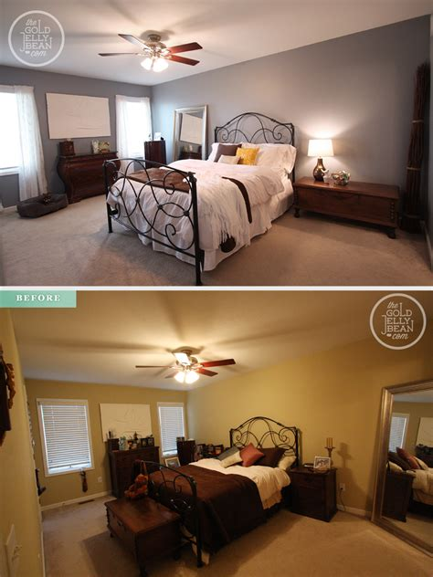 before and after bedrooms a quick bedroom makeover on a budget the gold jellybean