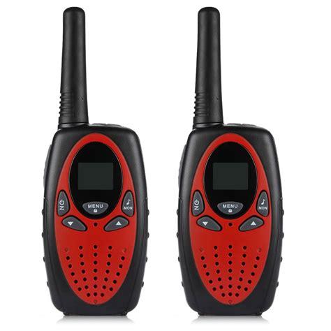 Flyrose Walkie Talkie 1 Pair excelvan 8 channel pair of walkie talkies uhf400 470mhz 2 way radio 3km ran g2f7 ebay