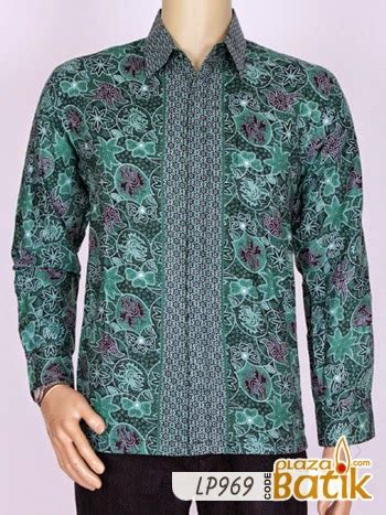 Kaos Pria Unique Lp 05 by Baju Batik Pria Lengan Panjang Lp969 Plaza Batik Baju