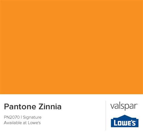 pantone zinnia 14 1159 from valspar colorful valspar pantone and zinnias
