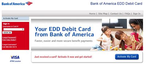 How To Activate A Stolen Gift Card Online - lost my edd bank of america debit card infocard co