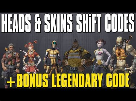 borderlands the pre sequel shift codes gamesradar borderlands 2 pre sequel heads skins legendary weapons