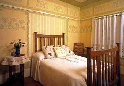 bricks brass decorative details   bedroom