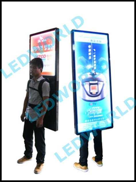 Sign Backpack wholesale effect outdoor walking advertising mobile