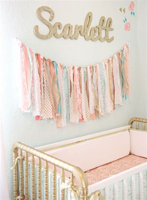 Name Decorations For Nursery 1000 Ideas About Name Above Crib On Nursery Colors Baby And Baby