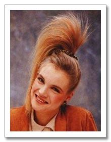 80s hairstyles ponytail 80s side ponytail retro 80 s side