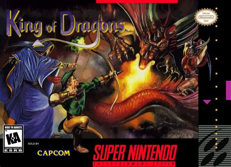 king of king of the dragons snes nintendo