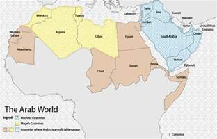 Arab World Map gallery for gt arab map