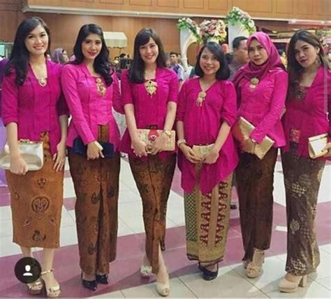 Atasan Wanita Khalisa inspirasi kebaya seragam untuk pesta pernikahan kebaya