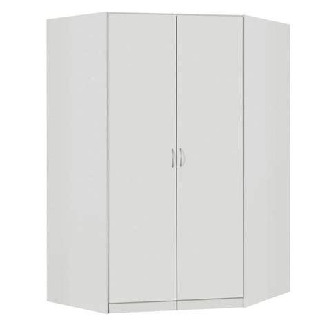 Armoire D Angle Ikea 3564 by Armoire D Angle Noa Blanc Achat Vente Armoire De