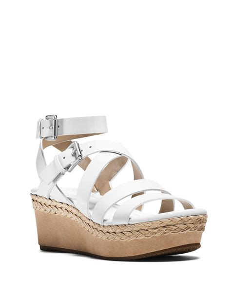 michael michael kors jocelyn vachetta leather platform
