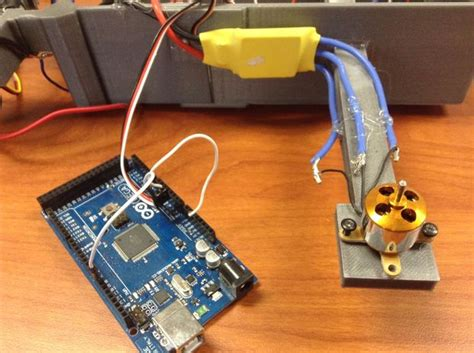 esc to motor how to run a brushless motor esc with arduino 3 steps