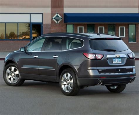 What Does Chevrolet by Chevy Traverse Get A Minor Updates For 2017 Model Year