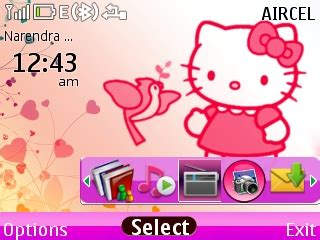 zedge themes hello kitty asha 200 themes zedge