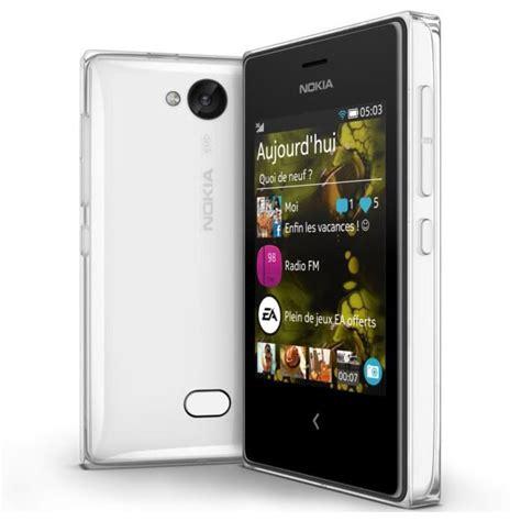 nokia 503 mobile nokia asha 503 blanc mobile smartphone nokia sur ldlc