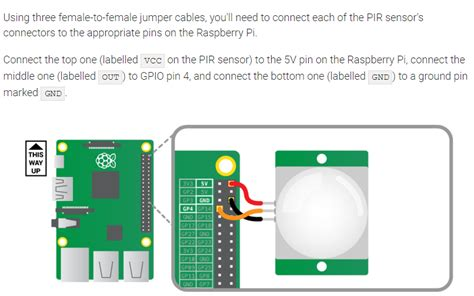 how to connect to raspberry pi gpio how to connect 4 pir sensors to a raspberry pi