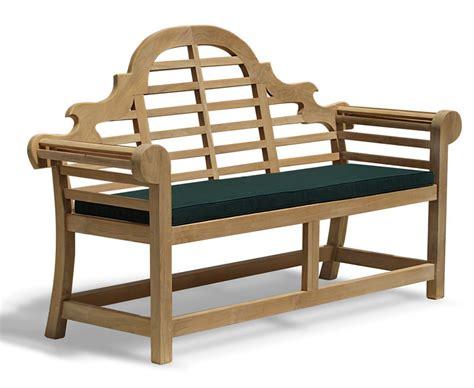 lutyens bench cover lutyens bench cushion medium lindsey teak