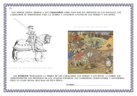 infantil de gracia caballeros medievales proyecto edad media para infantil