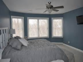 Blue Walls Bedroom blue bedroom wall blue gray wall color blue gray bedroom