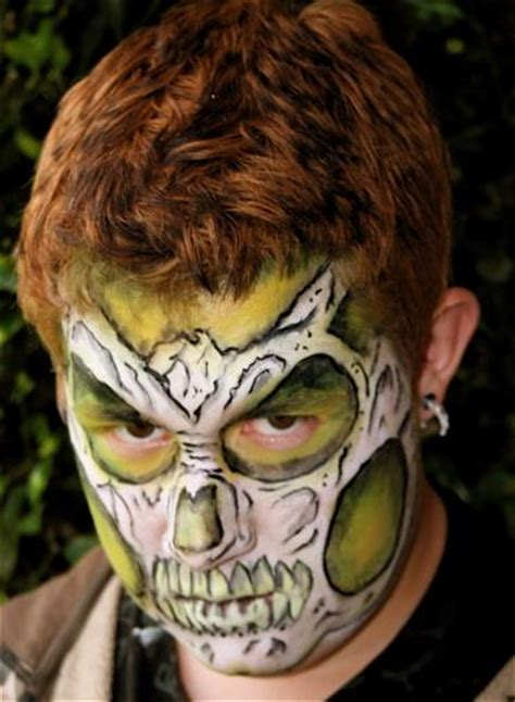 extreme tattoo makeup pictures for high jinks extreme face body art in