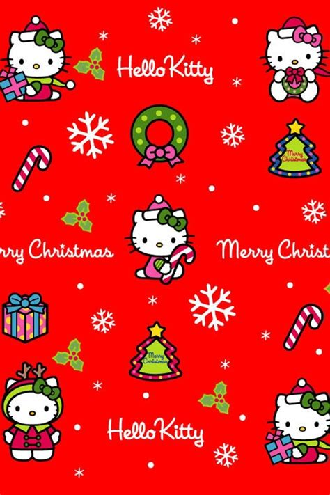hello kitty christmas wallpaper iphone 14 best images about hello kitty on pinterest merry