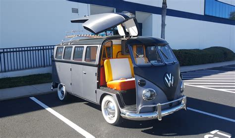 volkswagen van back cortland finnegan s back to the future vw bus for sale