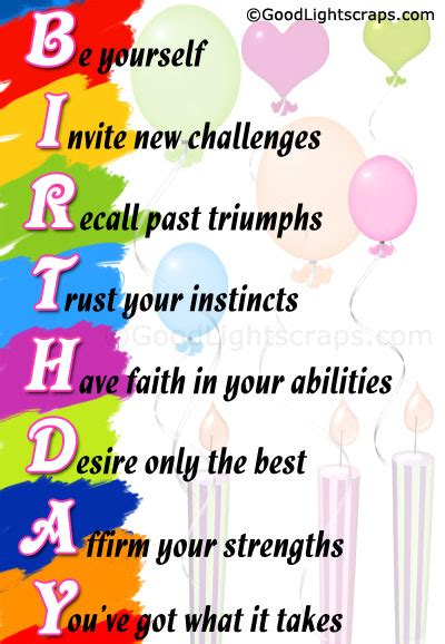 Quotes For In Birthday Happy Birthday Quotes Quotesgram