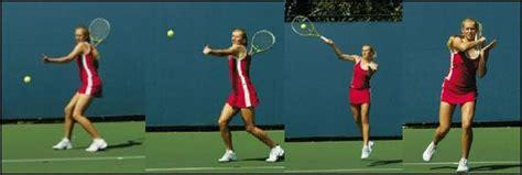 golf swing like tennis forehand head on forehand 1