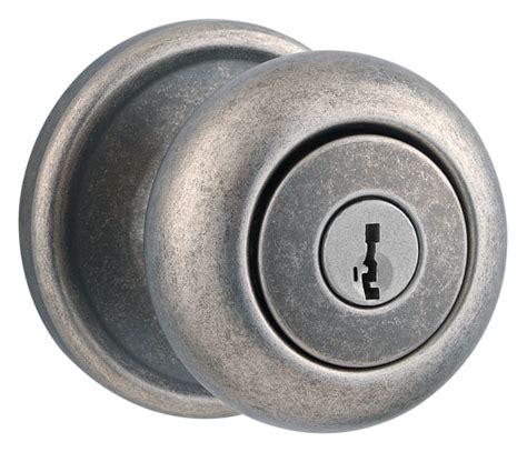Remove Weiser Door Knob by Weiser Lock Gca531h502s Rustic Pewter Keyed Entry Hancock