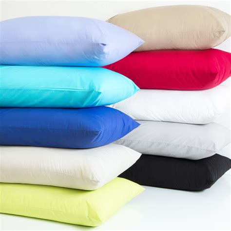 plain dye 250 thread count pillowcases pillow talk