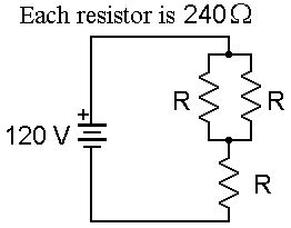 what value of resistor r gives the circuit scen103 resistor combination exercise
