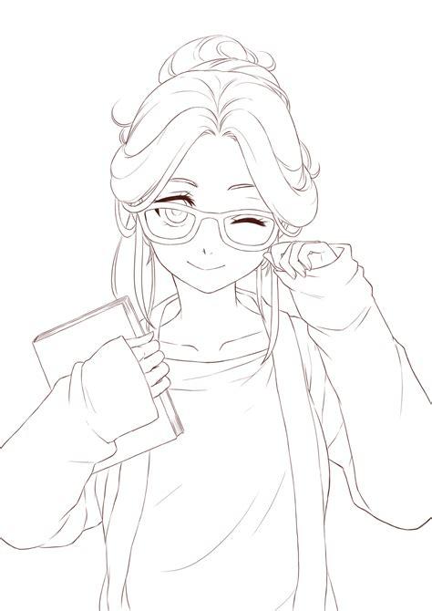 line art tutorial tumblr anime line art clipart clipground
