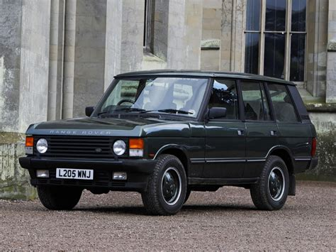 land rover range rover technical specifications and fuel
