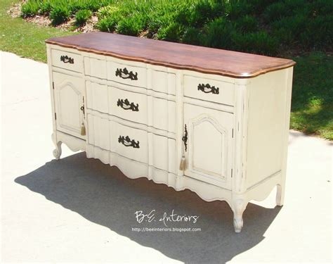 white dresser with stained wood top white painted dresser painted wood