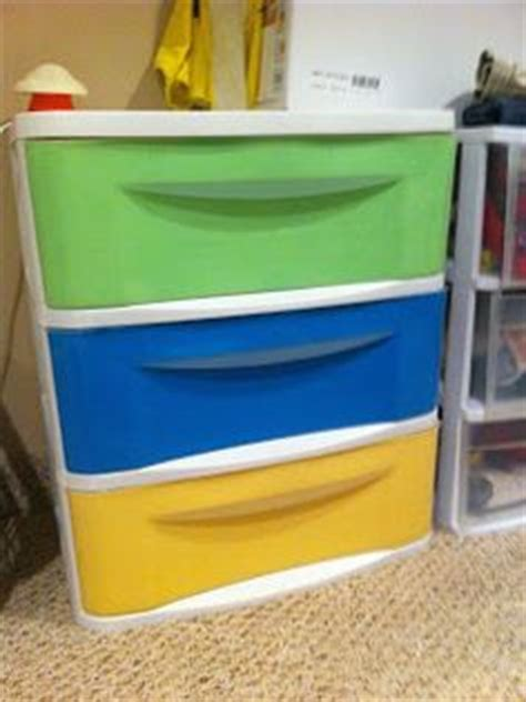How To Paint Plastic Drawers by Painting Plastic Drawers On