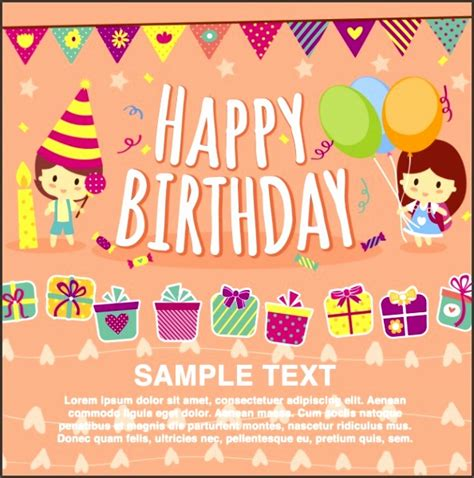 Free Birthday Card Templates For Publisher