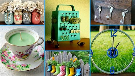 recycled home decor projects 60 creative ideas to reuse old things diy recycled home