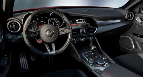 alfasud interni alfa romeo giulia qv interior leaked it s just as