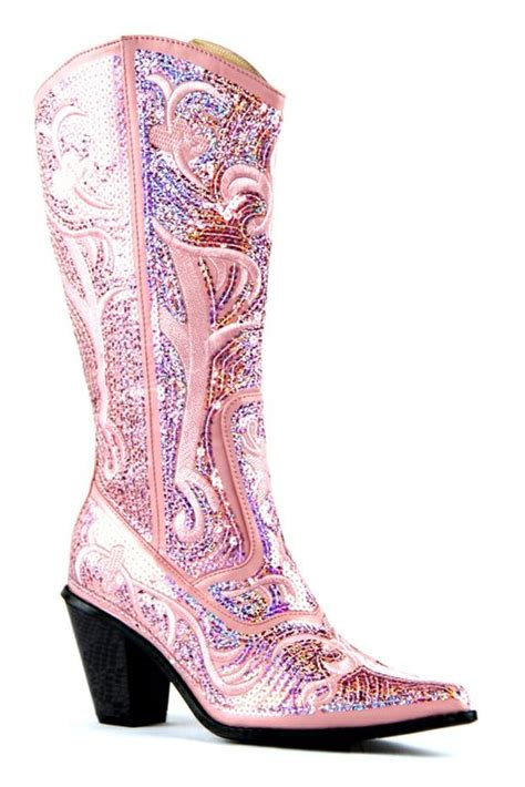 bling boots helen s bling boots in pink lb 0290 12 nchantment