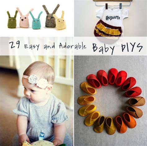 Handmade Things For Babies - 29 easy and adorable things to make for babies