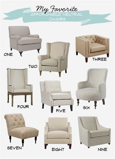 Affordable Wingback Chairs Design Ideas My Favorite Affordable Neutral Chairs House Of Jade Interiors