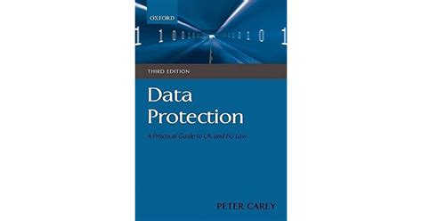 Data Protection A Practical Guide To Uk And Eu Law By