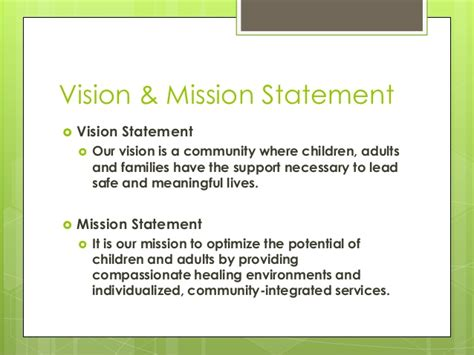 new vision house of hope orientation to quality improvement